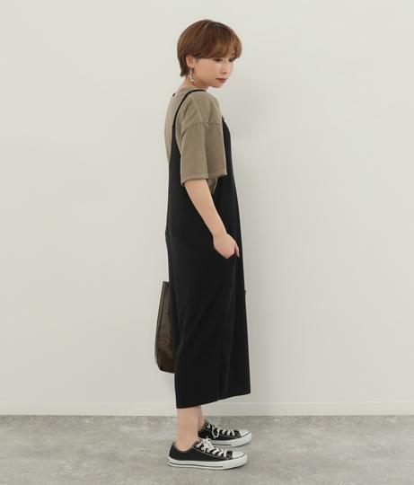 Vネックガウチョサロペット(ワンピース・ドレス/サロペット/オールインワン) | Factor=