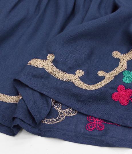 エスニック刺繍ベアチュニック | anap mimpi