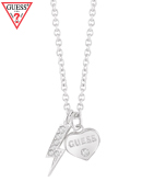 GUESS THUNDER HEART NECKLACE