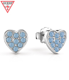 GUESS HEART STUD PIERCE