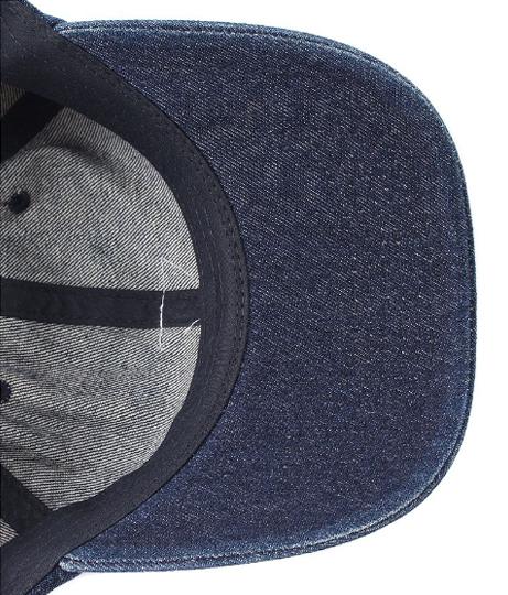 【新色追加】GUESS TRIANGLE LOGO DENIM 6 PANEL CAP(ファッション雑貨/ハット・キャップ・ニット帽 ・キャスケット・ベレー帽) | GUESS
