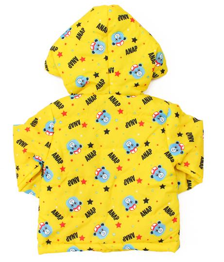 キャラクター総柄中綿フーディジャケット(アウター(コート・ジャケット) /ジャケット・ブルゾン)   ANAP KIDS
