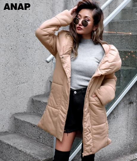 ●中綿ロングコート