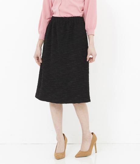 ニットツイードタイトスカート