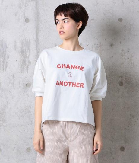 10番糸ロゴ半袖Tシャツ