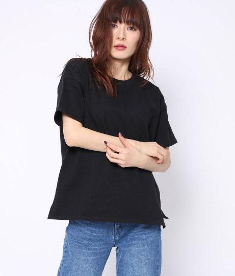 10番糸ポケ付ビッグTシャツ