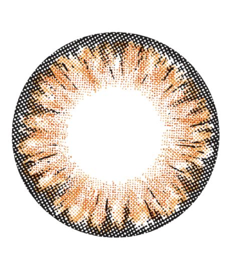 カラコン:DopeWink フルールシリーズ(1箱2枚/マンスリー)【度なし】(Others/カラーコンタクト) | Love Handles