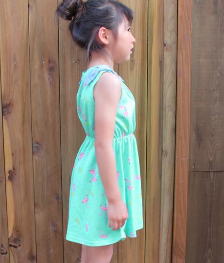フラミンゴ柄ワンピース(ワンピース・ドレス/ミニワンピ) | ANAP KIDS