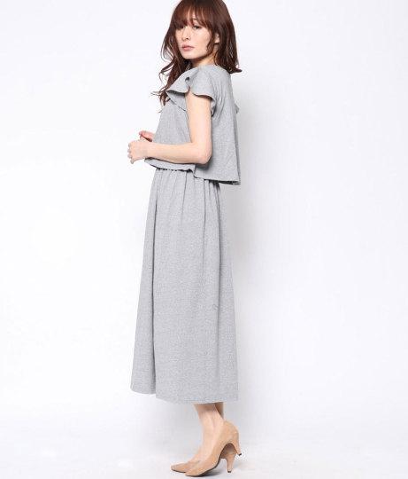 ヘビーコットンロングワンピ(ワンピース・ドレス/ロングワンピ)   Factor=