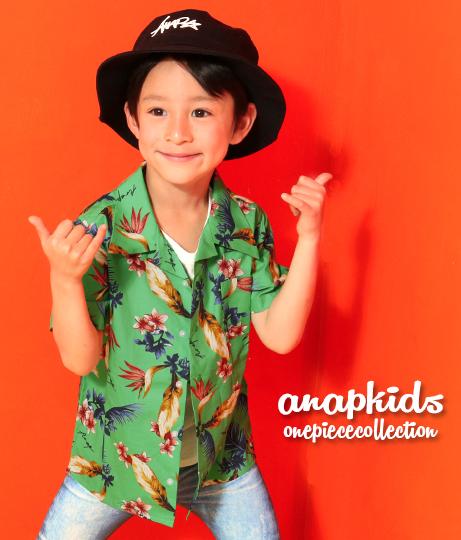 アロハ柄シャツ(トップス/シャツ・ブラウス) | ANAP KIDS