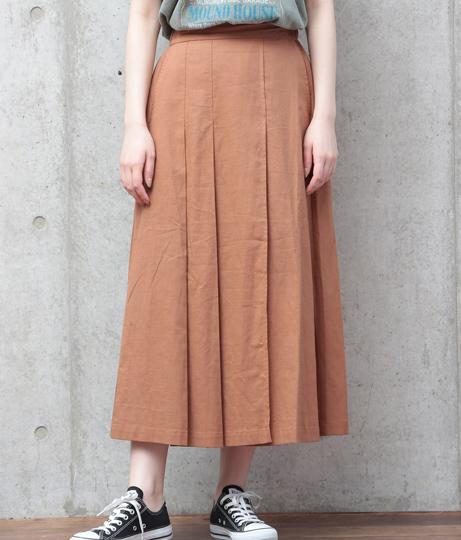 リネンタックスカート(ボトムス・パンツ /スカート) | Factor=