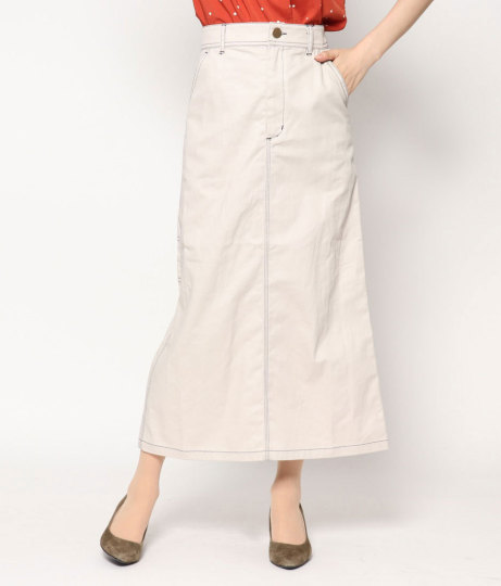 ツイルペインタースカート