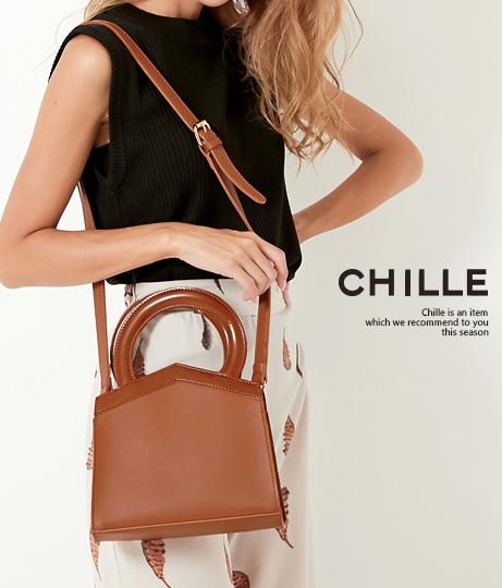 ●持ち手サークルデザインバッグ