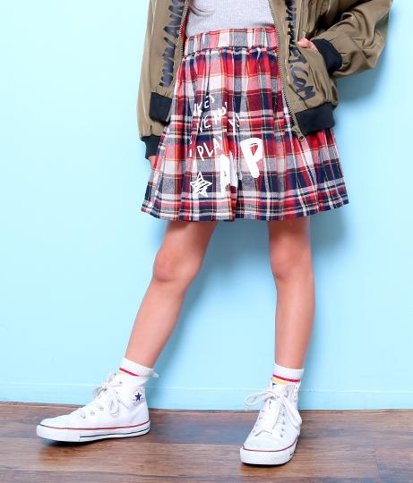 チェックスカート(ボトムス・パンツ /スカート) | ANAP KIDS