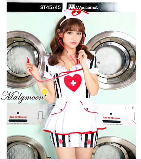 Malymoon ストライプナース(Others/コスチューム)   Malymoon