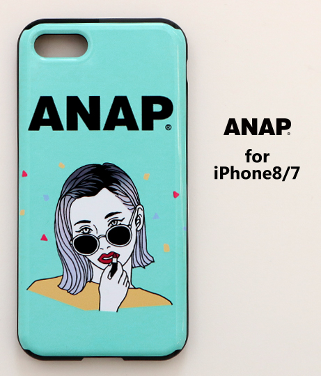 ANAPロゴiPhone7_8対応ケース(GIRL-GREEN)