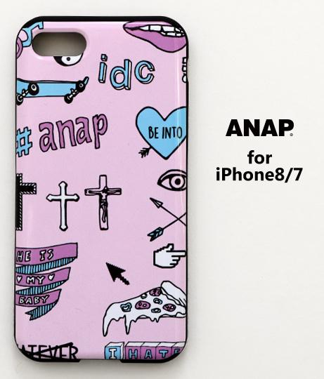 ANAPロゴiPhone7_8対応ケース(MIX MOTIF)
