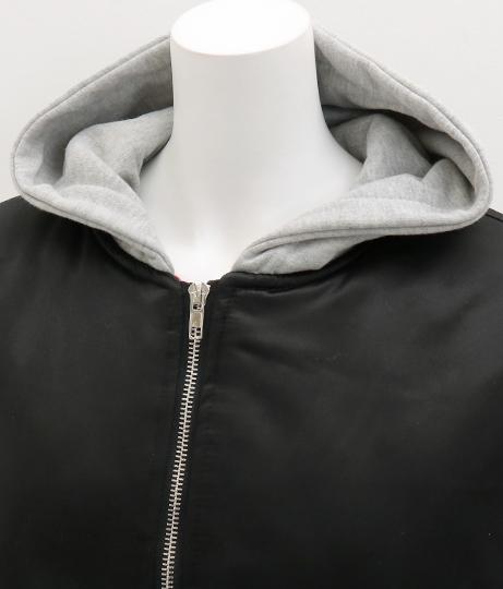 フード付中綿ブルゾン(アウター(コート・ジャケット) /ジャケット・ブルゾン) | ANAP