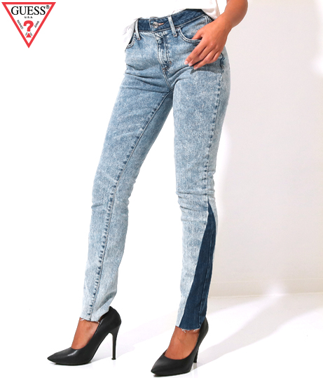 GUESS 1981 HIGH-RISE SKINNY DENIM PANT