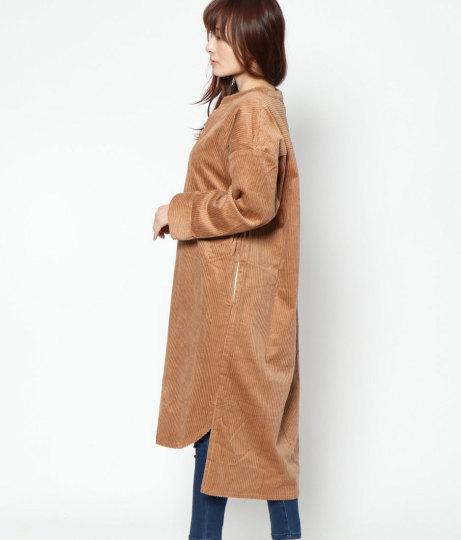 コーデュロイBIGワンピース(ワンピース・ドレス/ロングワンピ) | AULI