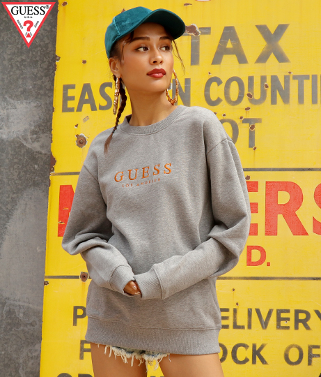 GUESS ORIGINALS ROY CREW SWEAT SHIRT