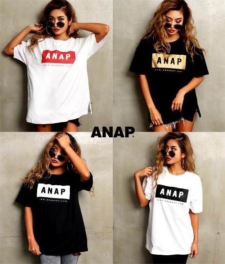 ANAPロゴBIG Tシャツ