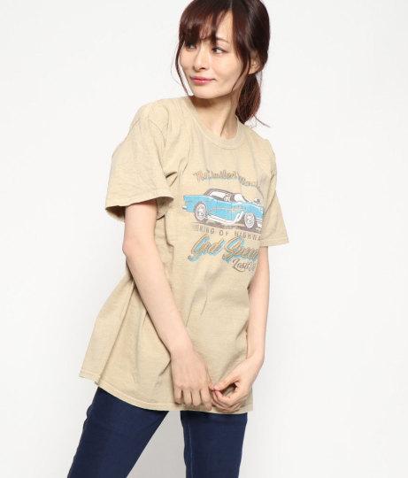アメ車プリントTシャツ