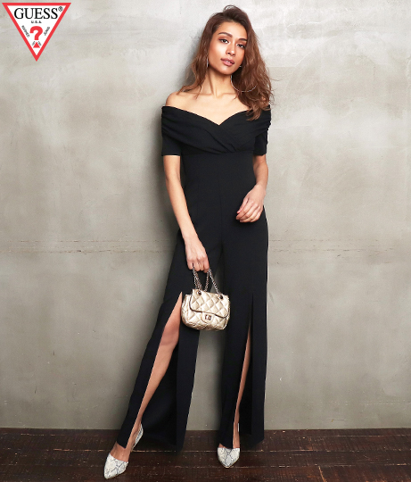 GUESS JUDA HIGH-SLIT JUMPSUIT