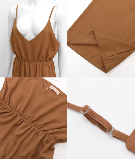 キャミソールオールインワン(ワンピース・ドレス/サロペット/オールインワン) | anap mimpi