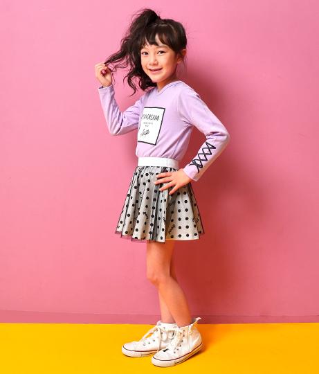 ドット柄チュールスカート(ボトムス・パンツ /スカート) | ANAP KIDS