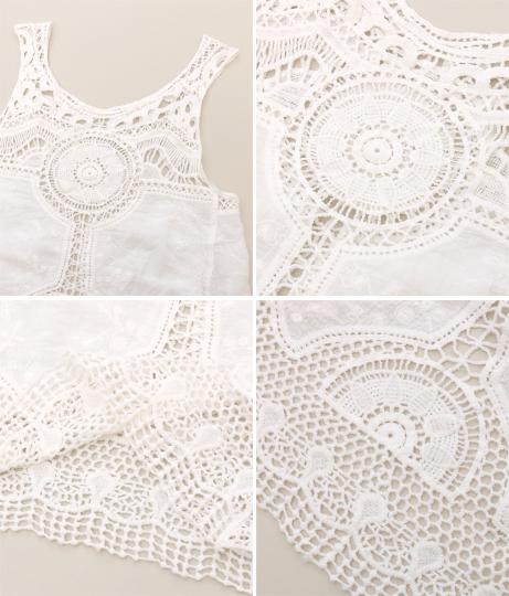 カギ編みタンクトップ | anap mimpi