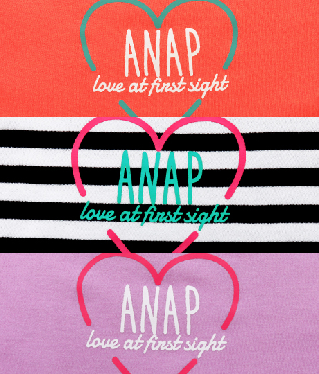 ハートロゴフリルチュニック(トップス/Tシャツ・チュニック) | ANAP KIDS