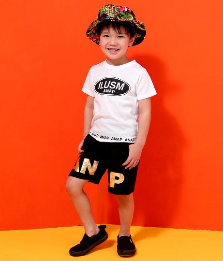 ●裾ロゴプリントTシャツ | ANAP KIDS
