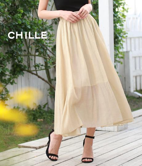 楊柳風フレアスカート