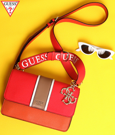 GUESS LA HIP TOP HANDLE FLAP