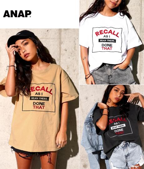 刺繍BIG Tシャツ