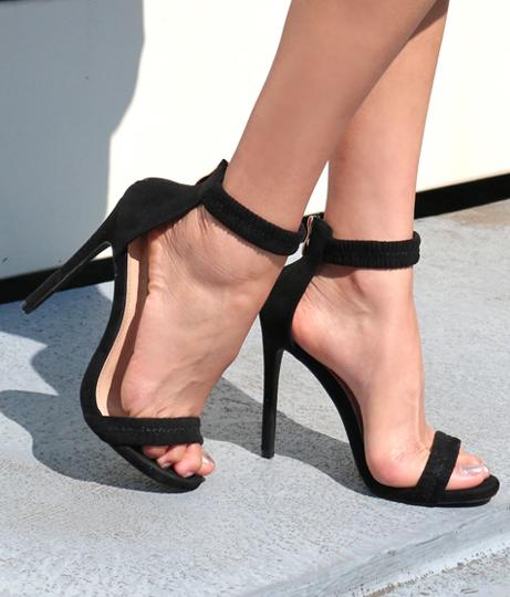 ギャザーストラップヒールサンダル(シューズ・靴/サンダル) | Anap USA