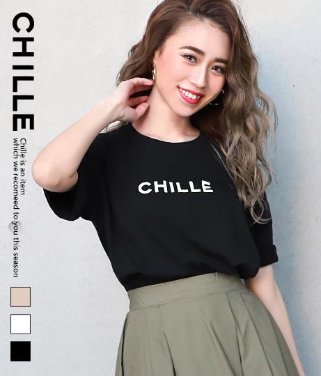 CHILLEロゴTシャツ