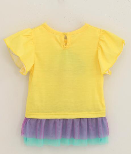 シェル柄フリルチュールTOPS(トップス/Tシャツ・チュニック) | ANAP KIDS