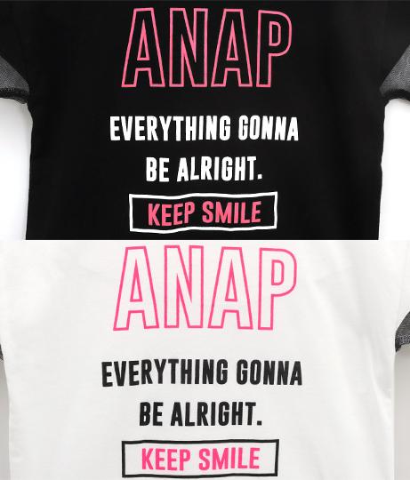 袖チュール切替BIGトップス(トップス/Tシャツ) | ANAP KIDS