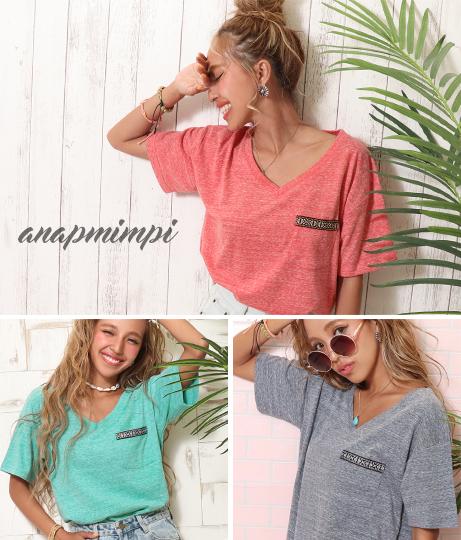 チロリアンポケットビックTシャツ