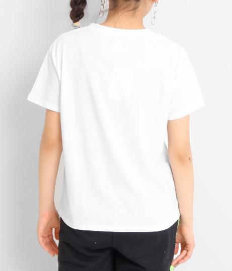 ラウンド星ロゴトップス(トップス/Tシャツ) | ANAP GiRL