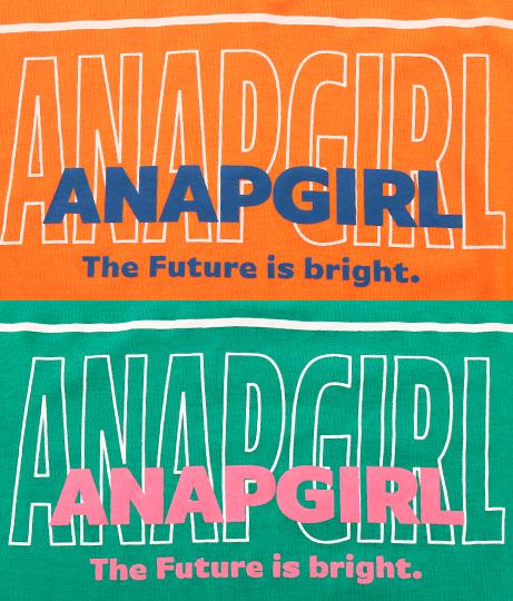 衿付配色チュニック(トップス/チュニック) | ANAP GiRL