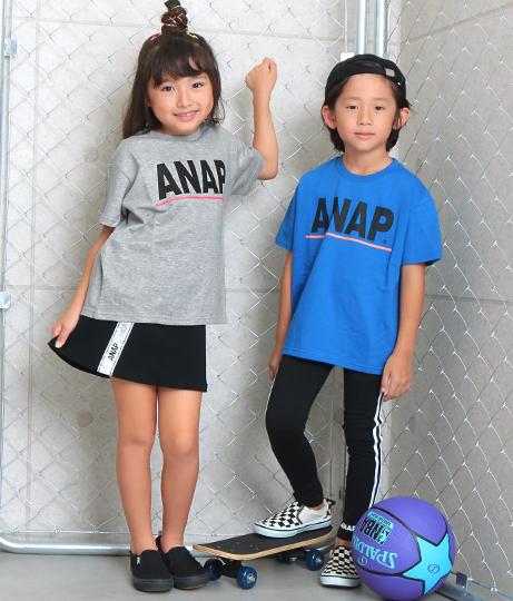 ANAPロゴミニ裏毛プリントトップス(トップス/スウェット・トレーナー) | ANAP KIDS