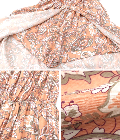 オフショルダーフロントオープンショートパンツ(ワンピース・ドレス/サロペット/オールインワン) | anap mimpi