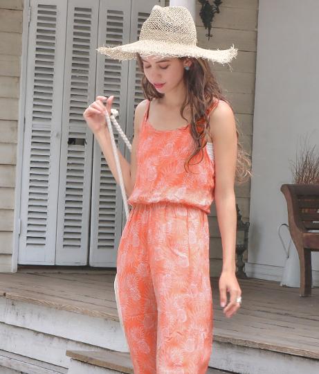 パイナップルデザインオールインワン(ワンピース・ドレス/サロペット/オールインワン) | anap mimpi