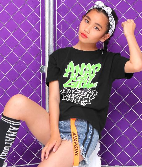 グラフィティロゴTシャツ(トップス/Tシャツ) | ANAP GiRL