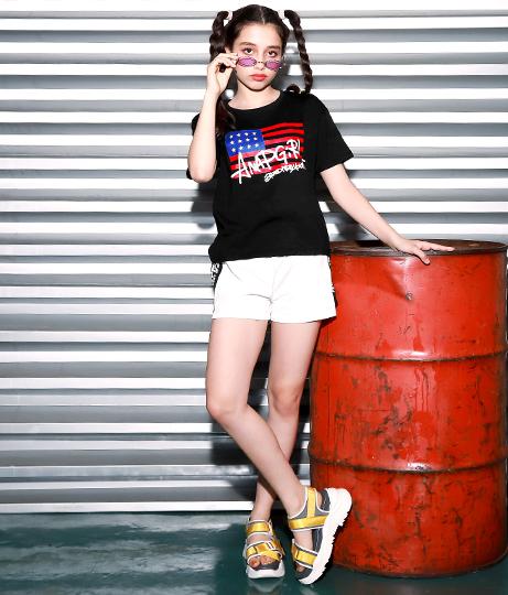 アメリカストリートロゴTシャツ(トップス/Tシャツ) | ANAP GiRL