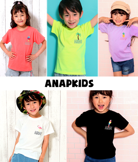 ●5パターン・サマーワンポイントTシャツ