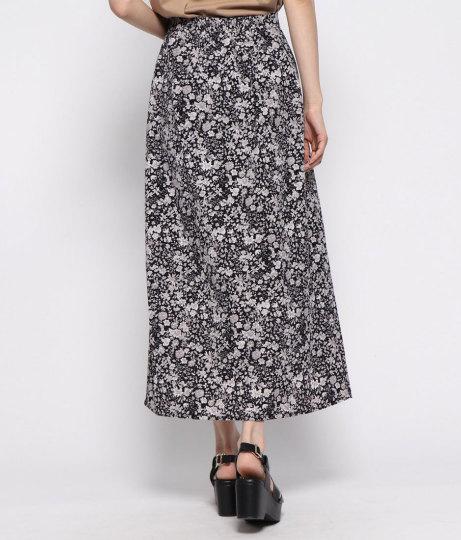 花柄クルミボタン付スカート(ボトムス・パンツ /スカート) | AULI